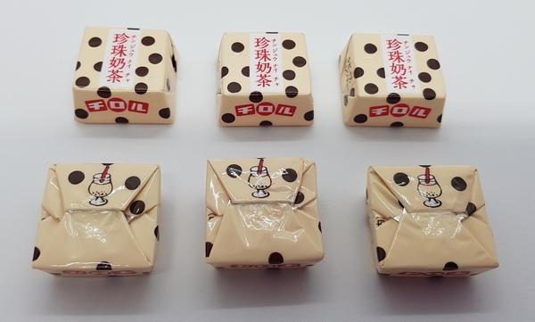 滋露珍珠奶茶巧克力日文內容物1
