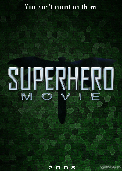 superhero movie海報