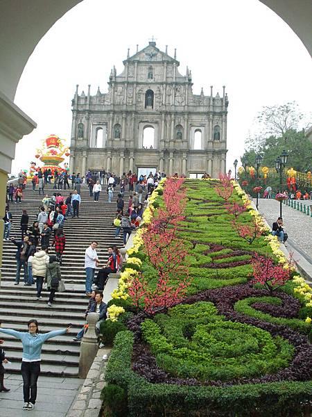 Macau   大三巴牌坊