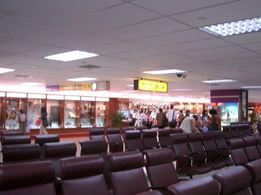 松山機場候機室