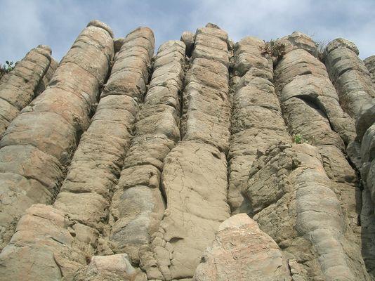 桶盤嶼柱狀玄武岩
