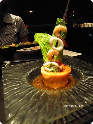 旬味海鮮木瓜沙拉.JPG