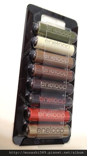 eneloop的充電電池