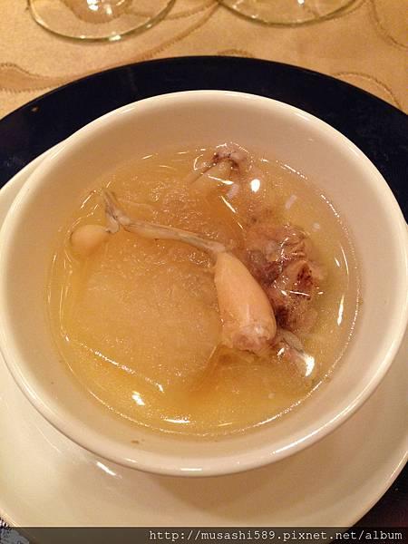 讓日本客人大驚失色的青蛙冬瓜湯