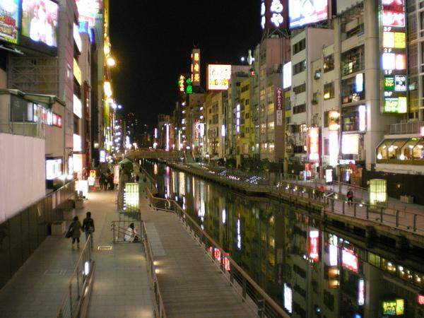 26.道頓堀橋邊夜景-1.JPG