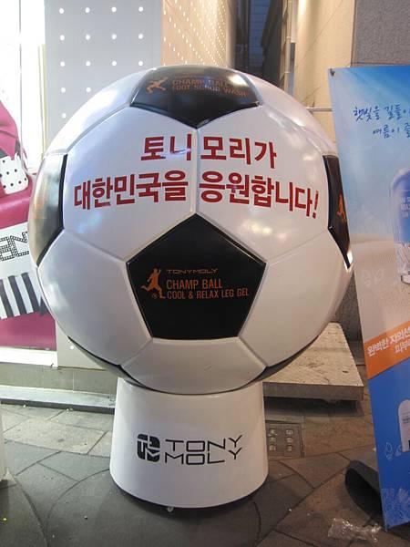 Toly Moly支持大韓民國