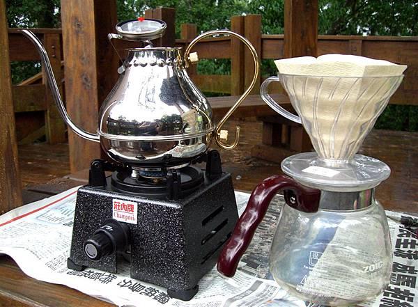 手沖咖啡設備