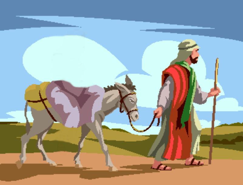你的驢是不是也正被牽走了呢 ?