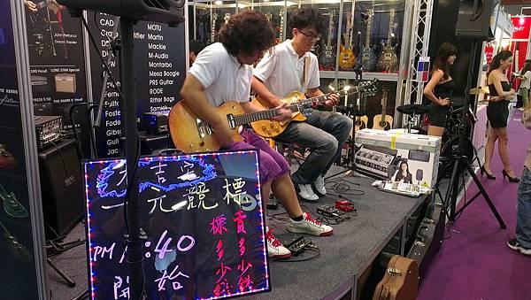 2012台北世貿樂器展-新麗聲樂器
