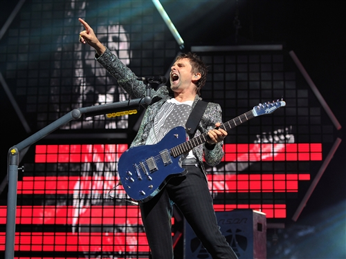 Muse Survival 2012倫敦奧運-Matthew Bellamy