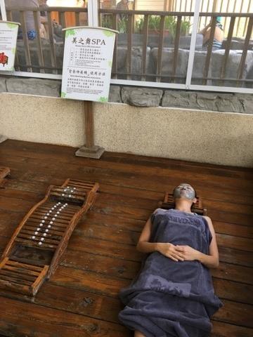 有許多設施可以供遊客養生與休息.jpg
