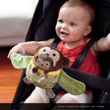 skip hop 推車玩具-小猴子