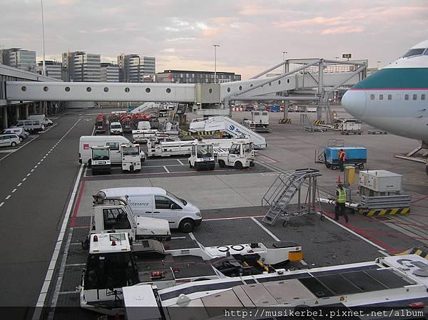 阿姆斯特丹機場的地勤部隊