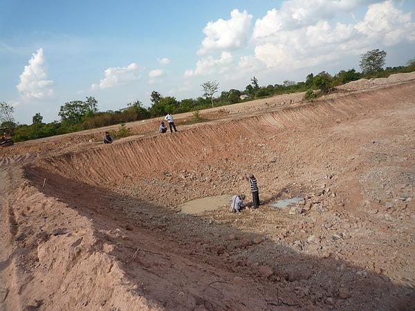 蓄水塘開挖工程