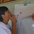 凱凱是這堂課的老師,講解完方法後親自示範.JPG