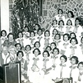 孫師母與花蓮學校的孩子們歡度聖誕