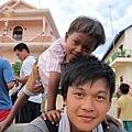 愛心孩子與院童合照