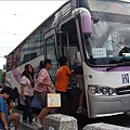 搭乘國光號愛心巴士