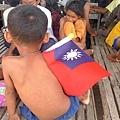 院童非常喜歡台灣國旗