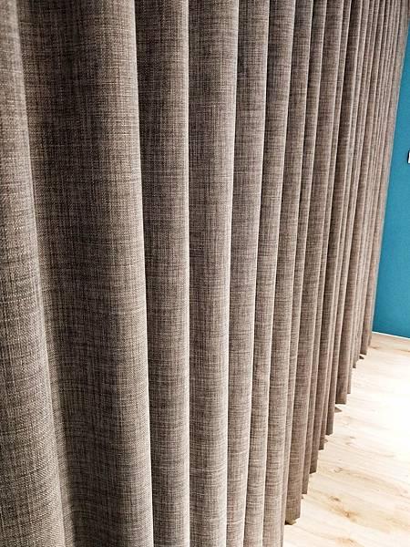 棉麻窗簾布材質