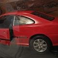 寶獅406 coupe'紅色1:18模型200元