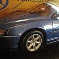 寶獅406 coupe'藍色1:18模型200元