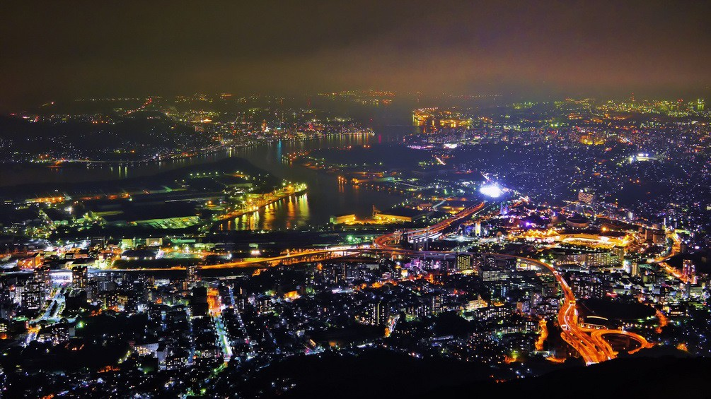 九州皿倉山夜景