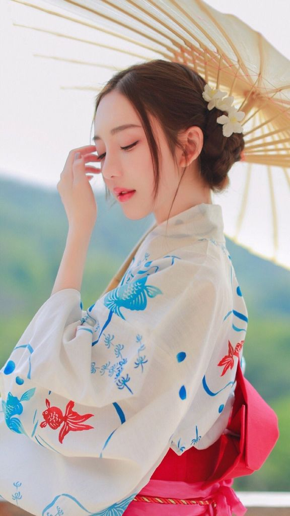 和服美女7