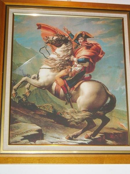 拿破崙畫像-象徵常勝砲兵