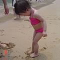 沙子好好玩~~