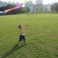 哇~有風箏~~