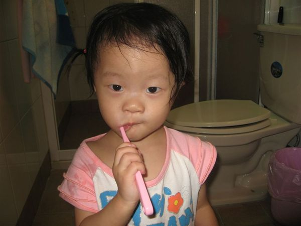 你也會每天刷牙嗎???