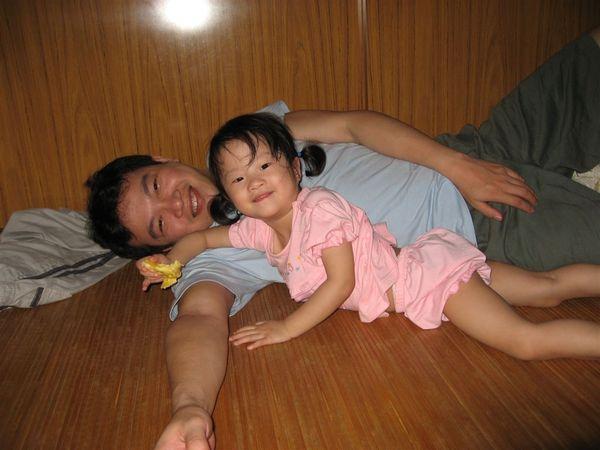 我愛爸比~~