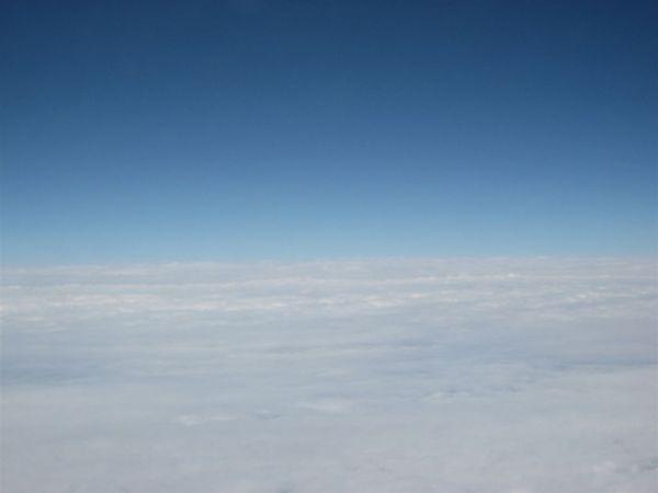 飛機起飛,正式開始我們的日本行