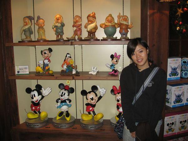 如果沒時間去到迪士尼樂園,但想買小東西的可以直接在這買就可以了