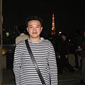 上次來有上去東京鐵塔,但我想那樣排隊好久才能上去看美麗的夜景,只要一次的經驗就可以了吧~