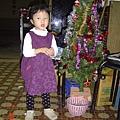 這是外婆店裡的聖誕樹,很美吧~