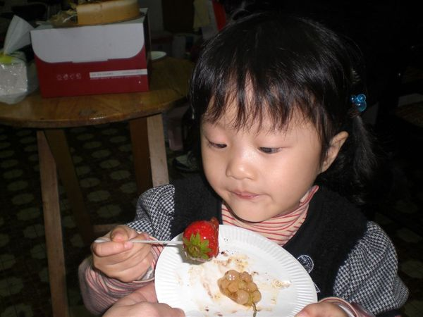 哇~是草莓!!