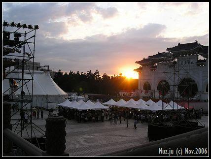 (4)夕陽西下