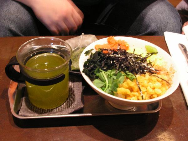 鱈魚子茶泡飯