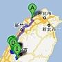 Google地圖-后里南投溪頭-第一天