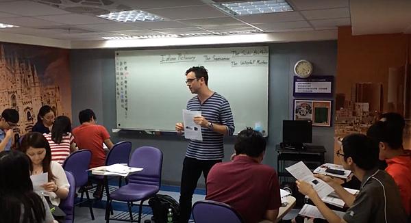 巨匠美語師資評價Geoff|玩遊戲學會口頭禪英文流行語