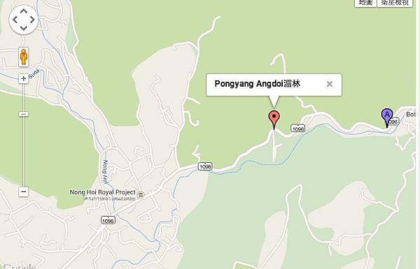 清邁 湄林擁有小瀑布景觀餐廳  Pongyang Angdoi Resort Chaing Mai
