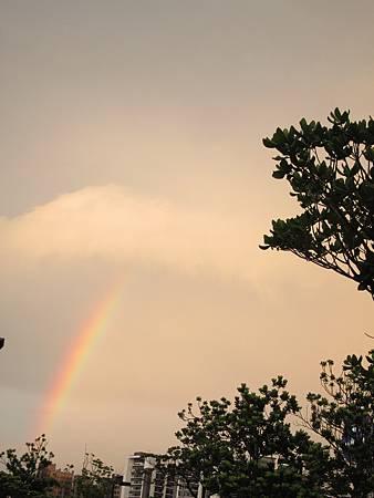 2011/6/19 送削邊回內湖的彩虹