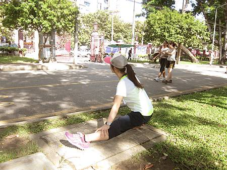 20131102_Lumphini Park 倫坡尼公園慢跑(1).JPG