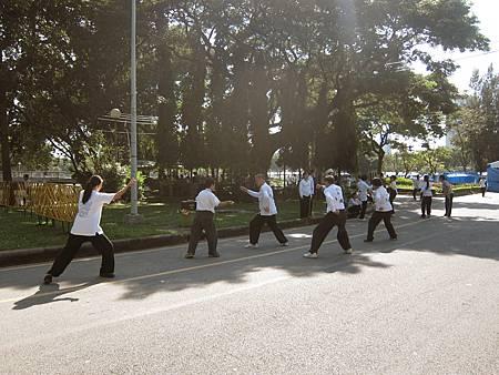 20131102_Lumphini Park 倫坡尼公園慢跑(4).JPG