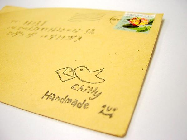 chilly的手作明信片