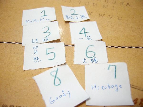 20101209痞客邦破萬活動-總共有八位參賽者