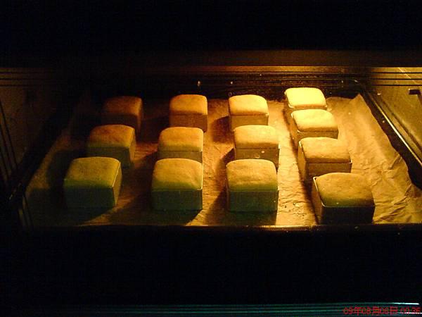 烘烤中的乳酪酥