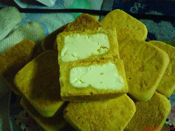滿滿的乳酪餡